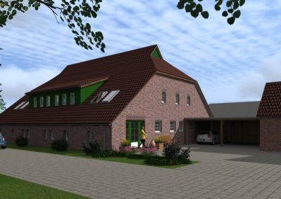 1410 – Umbau einer alten Stallanlage zu einem Doppelhaus