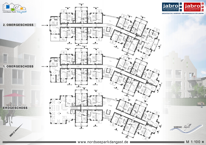 1636 - Nordseepark Dangast Ferienwohnanlage mit Gastro - jabro ...