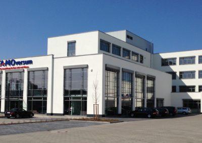 0929 – Neubau eines Bürogebäudes mit Ausstellungsräumen – FAMO