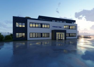 1716 – Neubau einer Lagerhalle und Bürogebäude