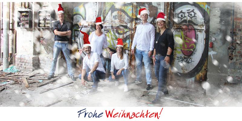 Frohe Weihnachten & einen guten Rutsch!
