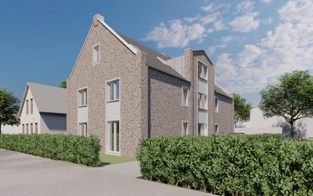 1738 – Neubau eines Mehrfamilienhauses