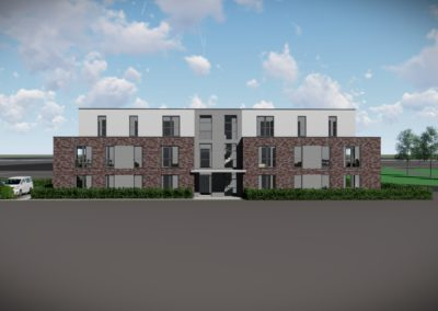 1638 – Neubau eines Mehrfamilienwohnhauses