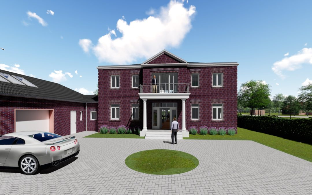 1619 – Neubau eines Einfamilienhauses mit Garage